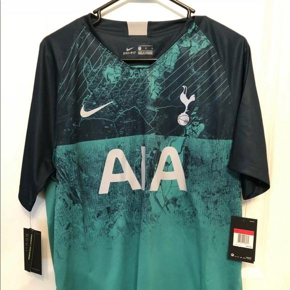 wholesale dealer f7b2a 2d9b2 Nike Tottenham Hotspur Spurs 3rd Soccer Jersey LG NWT